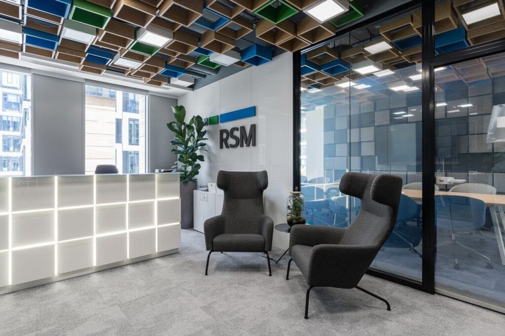 Industrialne wnętrze biura RSM Poland projektu Bit Creative - zdjęcia Fotomohito