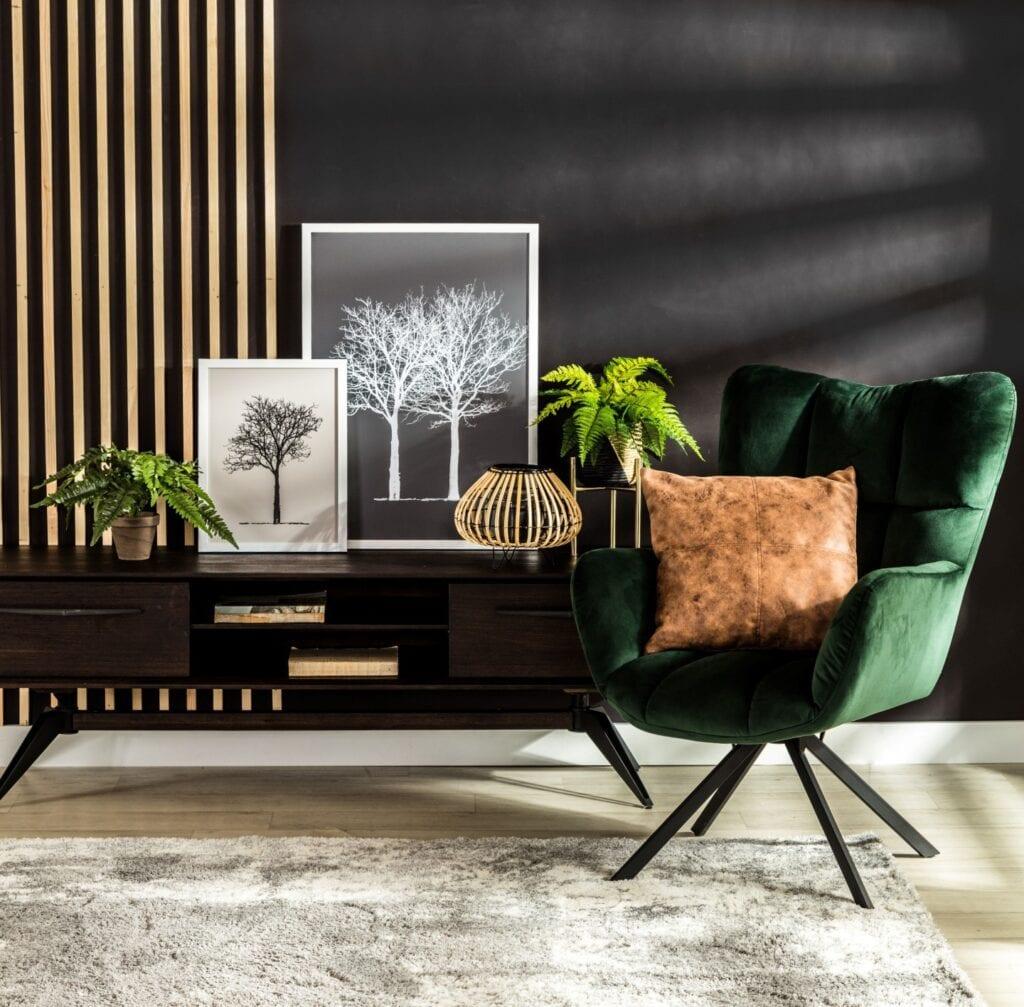 Zieleń we wnętrzu - spokój, minimalizm i klasa - Agata Meble