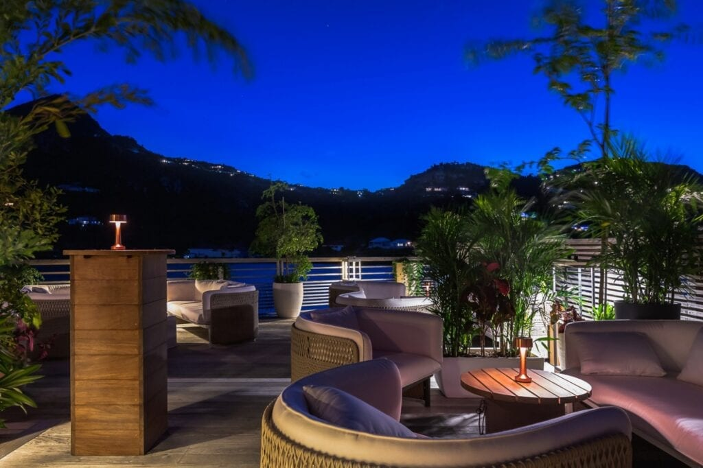Le Barthélemy Hotel & Spa na Karaibach - meble Ethimo - zdjęcia Laurent Benoit