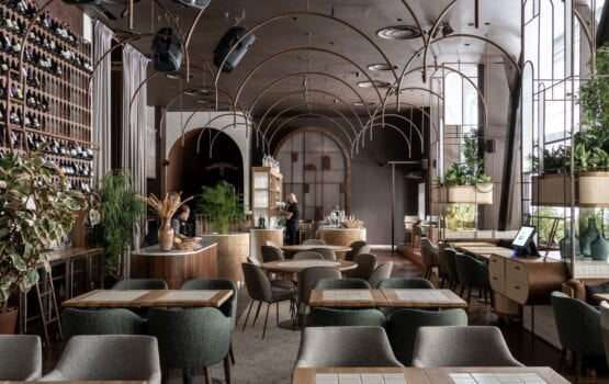 Restauracja Lucca projektu Yod Design Lab