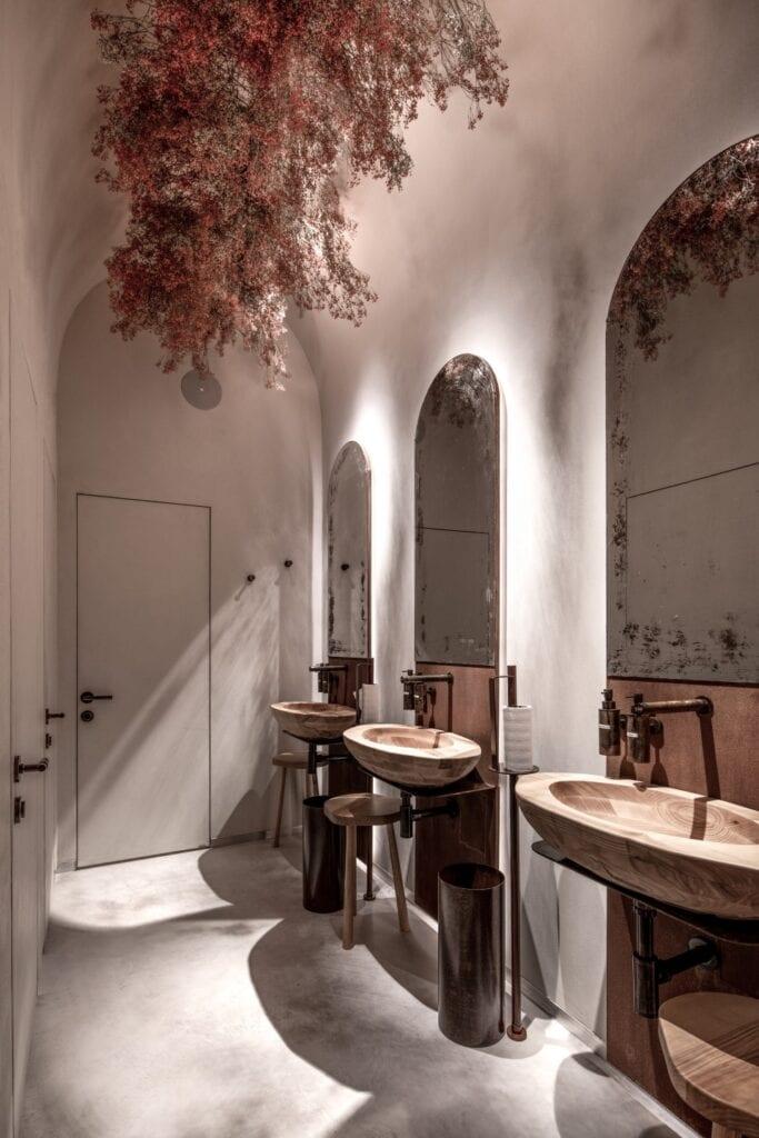 Restauracja Lucca projektu Yod Design Lab - zdjęcia Andrey Bezuglov