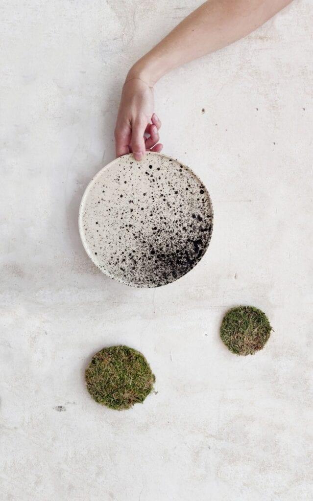 Swawole - Paulina Puciłowska - Talerz księżycowy - Kolekcja Moon