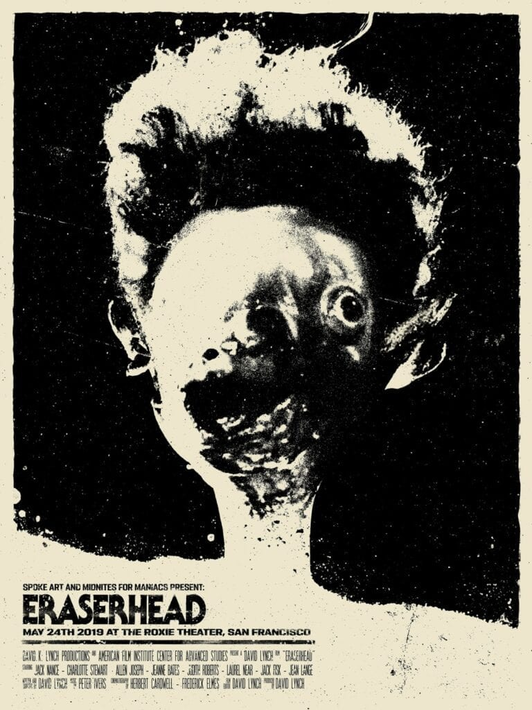 Bartosz Kosowski - plakat Eraser Head