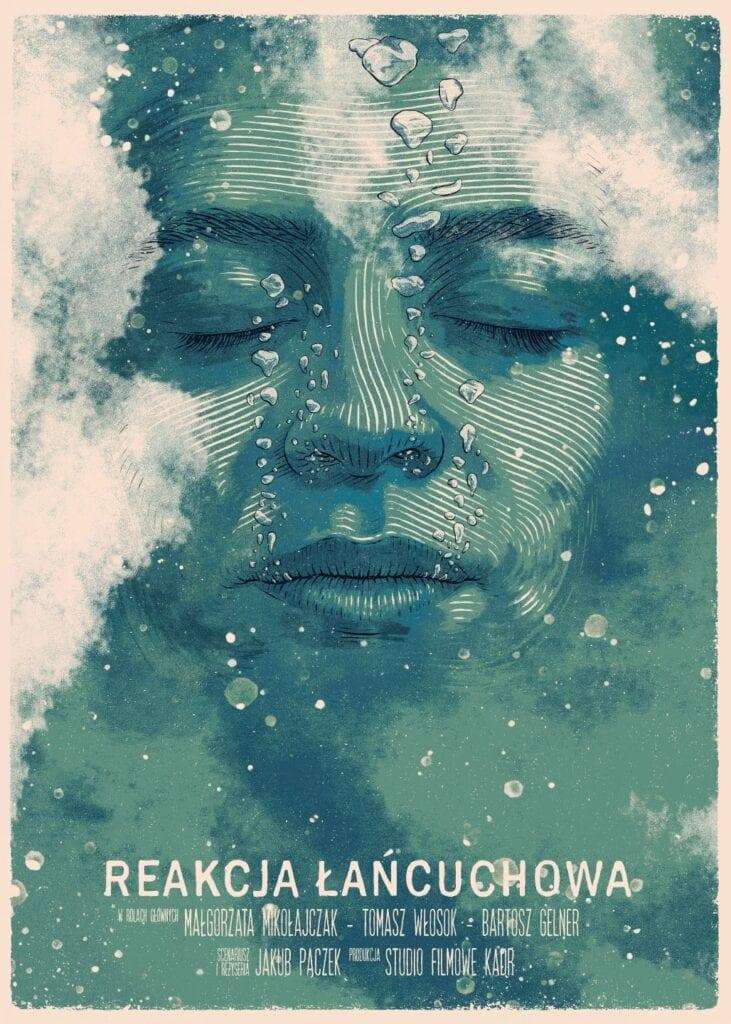 Bartosz Kosowski - plakat REakcja ŁAńcuchowa
