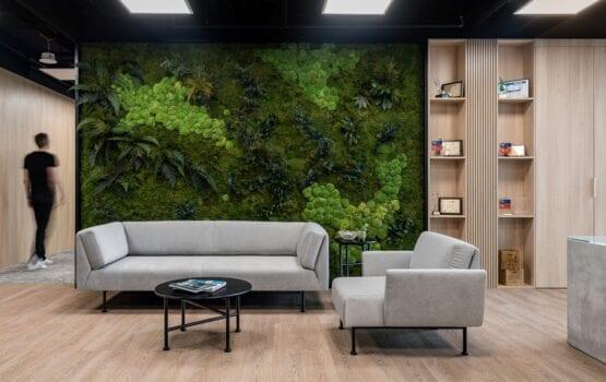 Zrównoważone biuro CHEP Polska projektu The Design Group