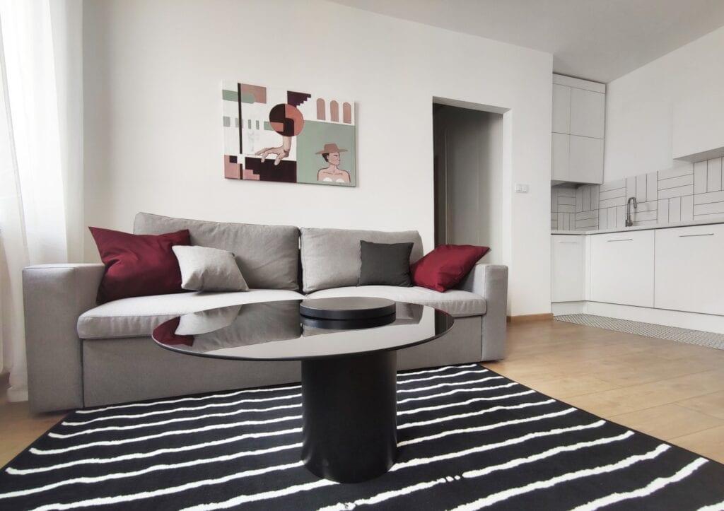 Agnieszka Musiał - Musiał Studio i mieszkanie nawiązujące de estetyki Bauhausu
