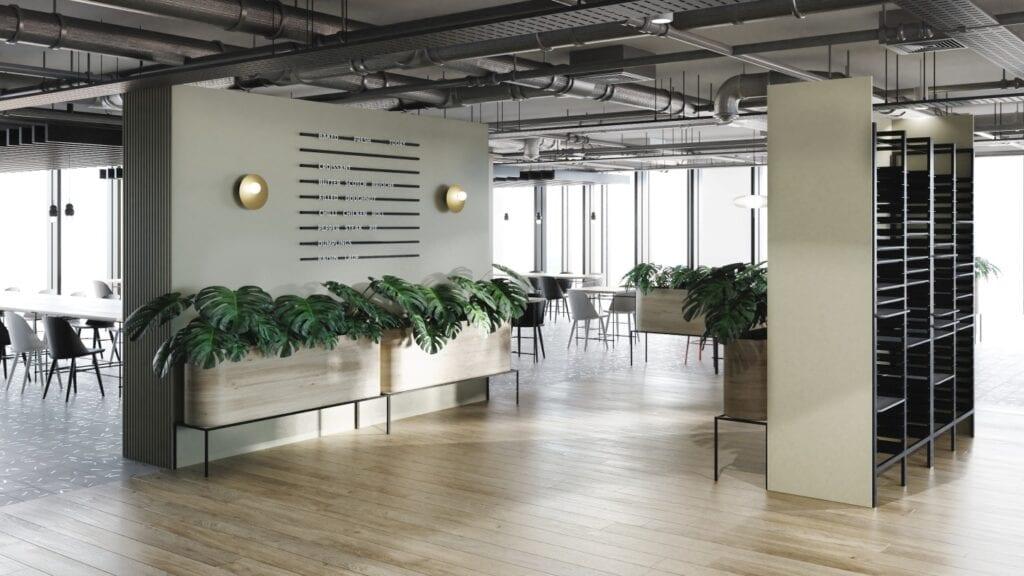 Andersia Silver - tak mogą wyglądać wnętrza budynku - projekt The Design Group