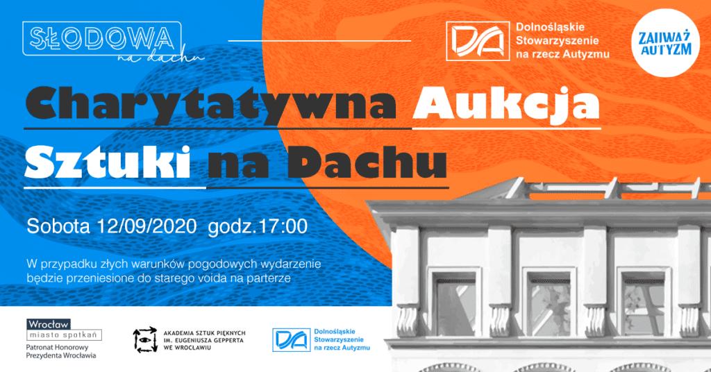 Charytatywna Aukcja Sztuki na Dachu we Wrocławiu - Milena Tyczyńska - Concordia Design