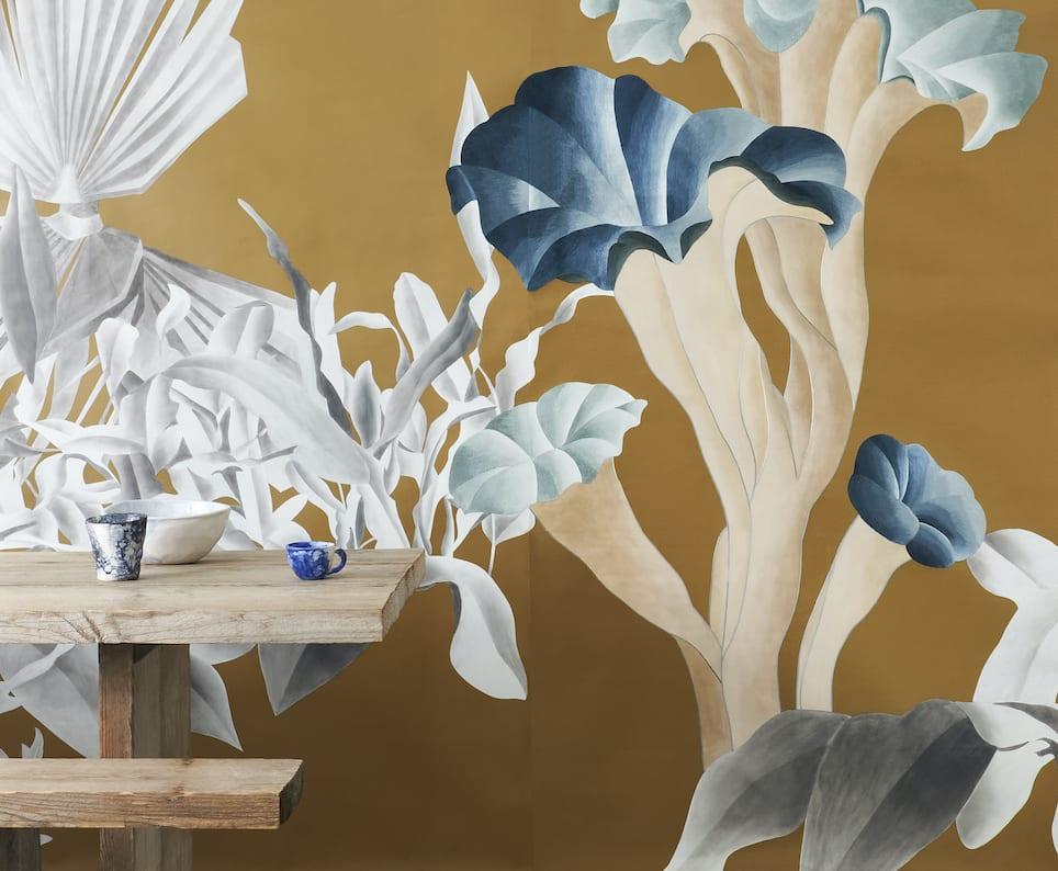 Esotismi - kolekcja jedwabnych tapet marki Misha - Formosa