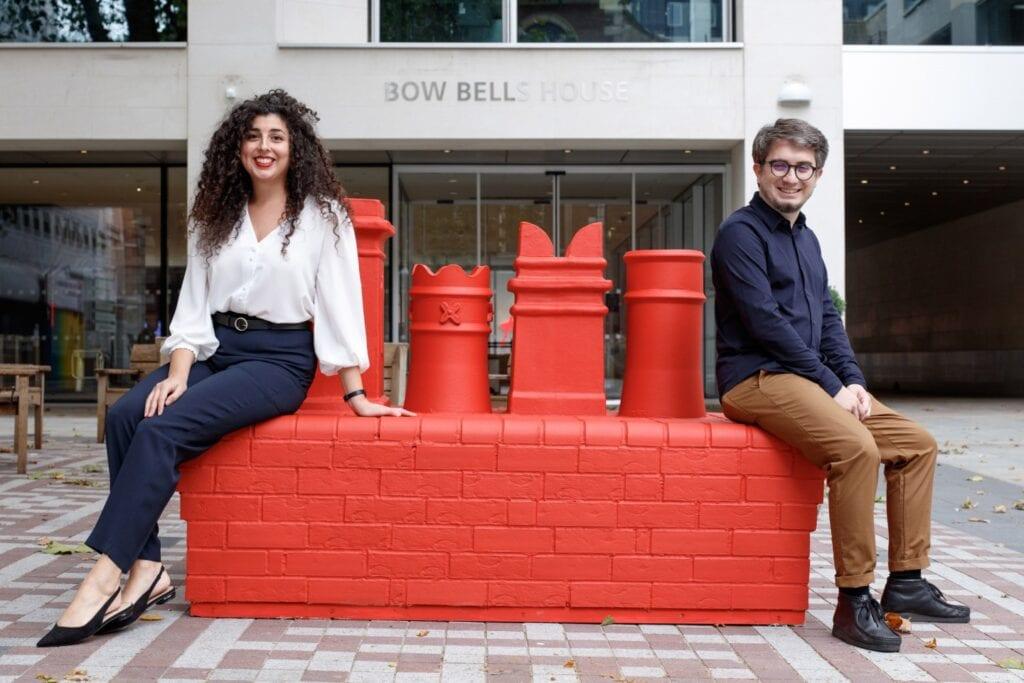 Kolorowe miejskie ławki na ulicach Londynu - London Festival of Architecture - City Benches