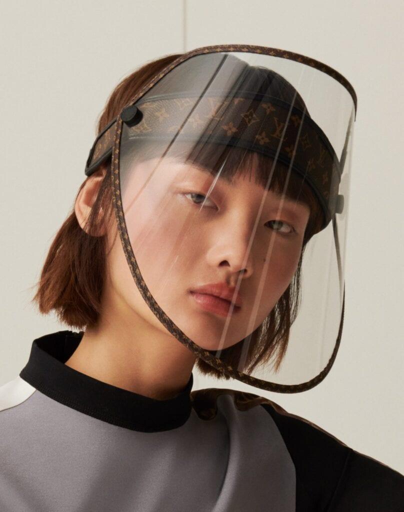 LV Shield, czyli przyłbica ochronna projektu Louis Vuitton