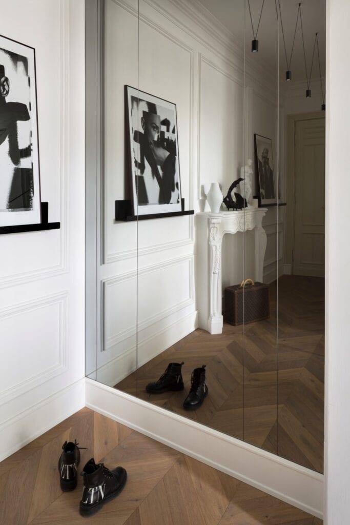 Monika Goszcz i projekt eleganckiego apartamentu przy Noakowskiego - zdjęcia Piotr Mastalerz