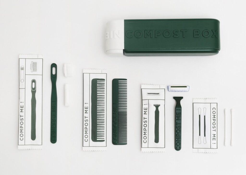 Nadzieja w młodych - poznaliśmy wyniki konkursu make me! 2020 - Łódź Design Fes - make me - Eléa Nouraud, James Dart, Lola Buades - The Green Box (Francja)