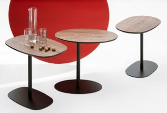 Nato – kolekcja trzech stolików kawowych projektu Tomka Rygalika