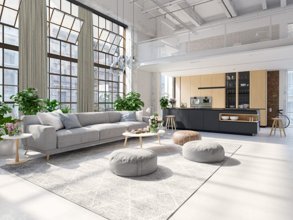 Okno na loft – aranżacje okienne do industrialnych wnętrz