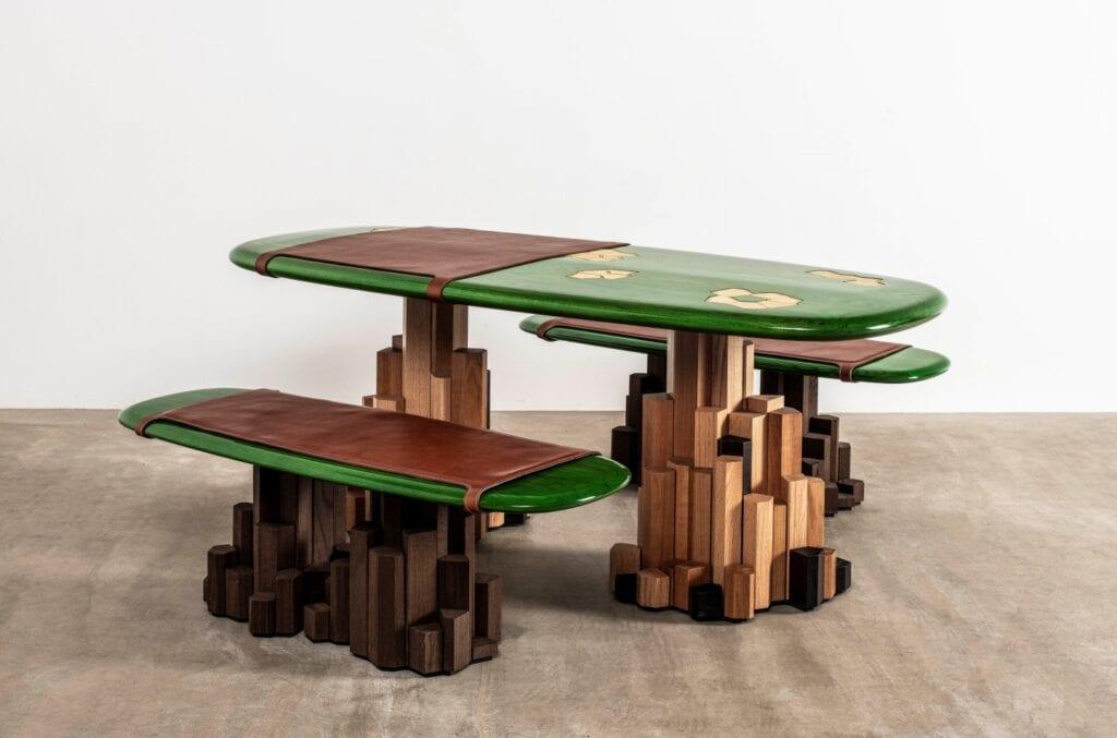 """Premiera projektu """"Connected"""" w Muzeum Designu w Londynie - Ini Archibong - Kadamba Gate"""