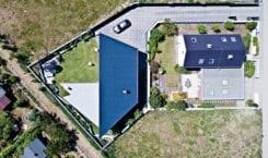RE: TRIANGLE HOUSE – dom na planie trapezu od REFORM…