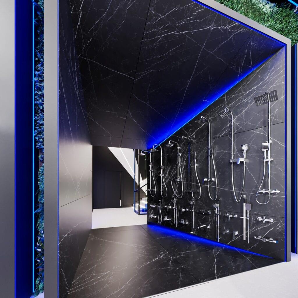 Showroom Deante z niezwykła ekspozycja od REFORM Architekt - Marcin Tomaszewski