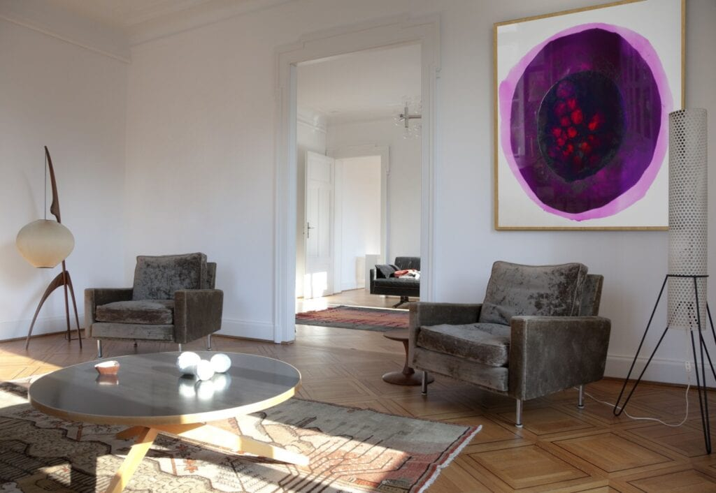 Sztuka we wnętrzu - wybieramy obraz do nowoczesnych przestrzeni - obrazy z żywicy epoksydowej - Katarzyna Pander-Liszka
