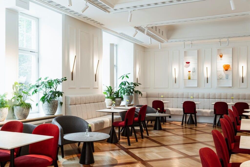 Wnętrza Nobu Hotel autorstwa pracowni de novo - Magdalena Dusińska oraz Magda Jeziorowska