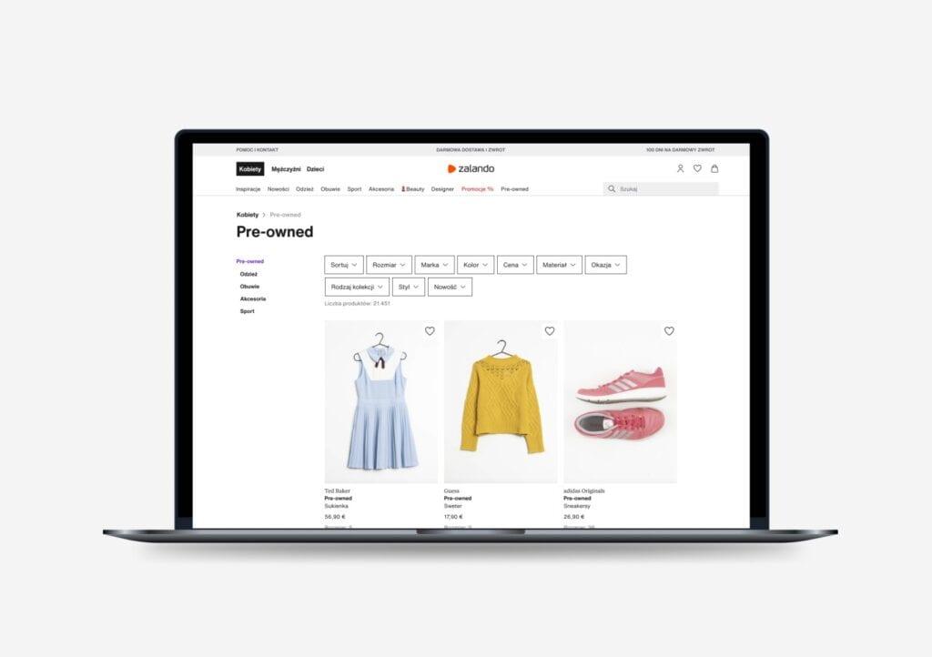 Zalando Pre-owned - kupuj i sprzedawaj używane artykuły