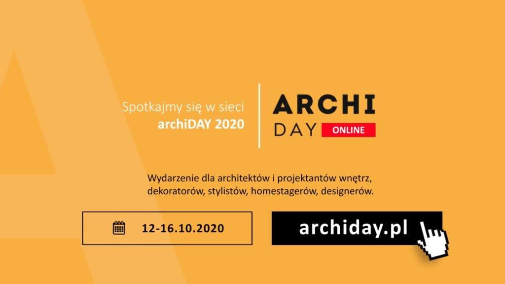 archiDAY 2020 - spotkajmy się w sieci