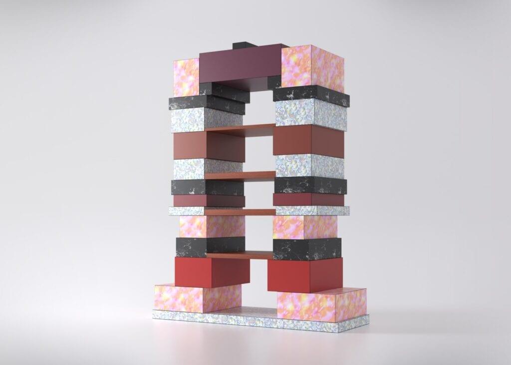 Design nieokiełznany według Abet Laminati i De Rosso