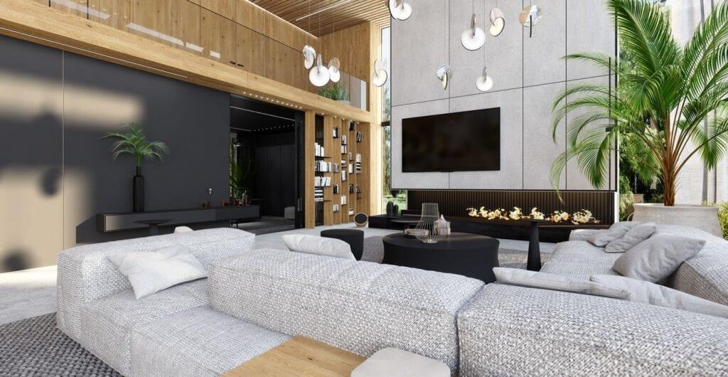 Dom pod Warszawą projektu pracowni modeko.studio