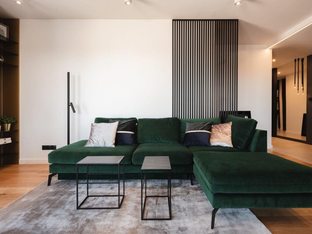 Kaza Interior Design i nowoczesny apartament w Kielcach - foto Przemysław Kuciński