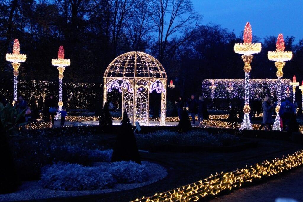 Królewski Ogród Światła - historia malowana światłem