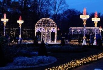 Królewski Ogród Światła – historia malowana światłem