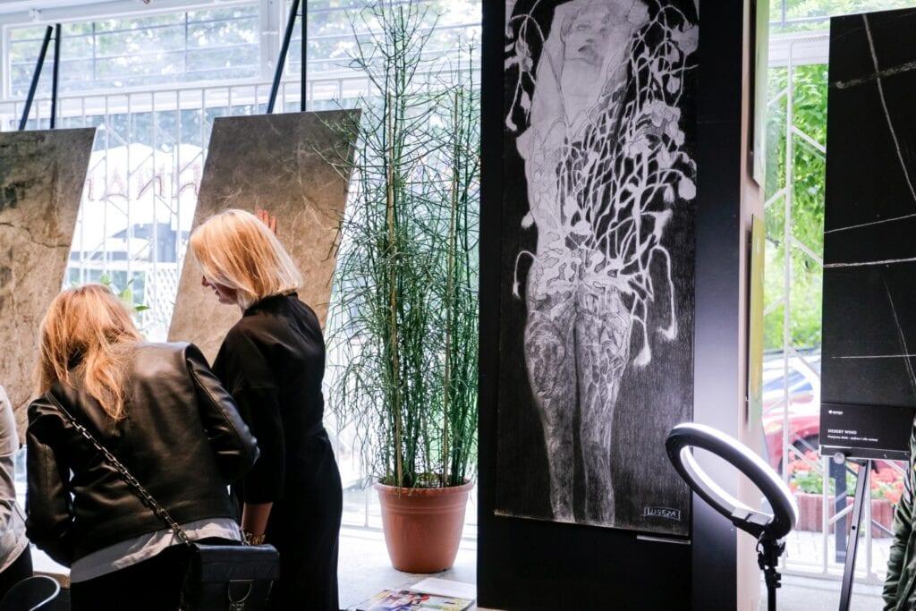 Premiera najnowszych kolekcji gresów marki Opoczno - Seria Grand Concept zaprezentowana w Galerii Ornament