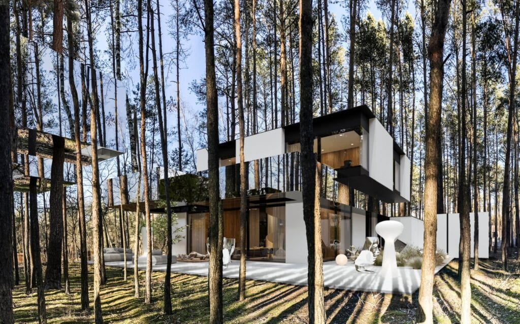 RE: MIRROR HOUSE 3.0 REFORM Architekt - Marcin Tomaszewski z nagrodą European Property Awards 2020-2021