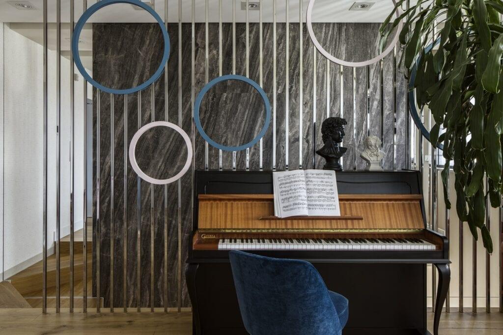 Wnętrzarskie yin i yang od Tissu Architecture - foto Yassen Hristov