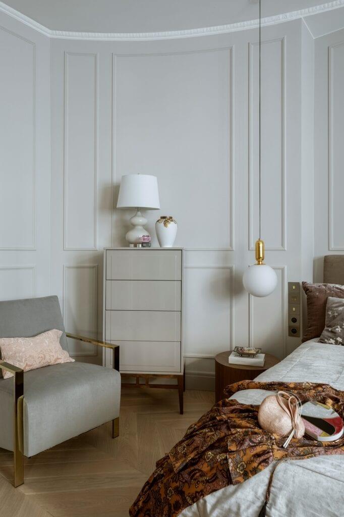 Apartament Mokotowska Chic projektu HOLA Design nagrodzony w European Property Awards 2020/2021