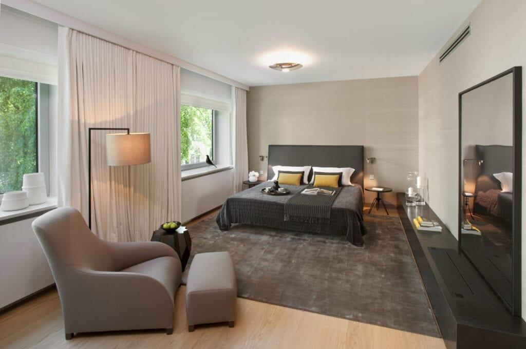 Apartament Park Lane projektu de novo Hanna Długosz