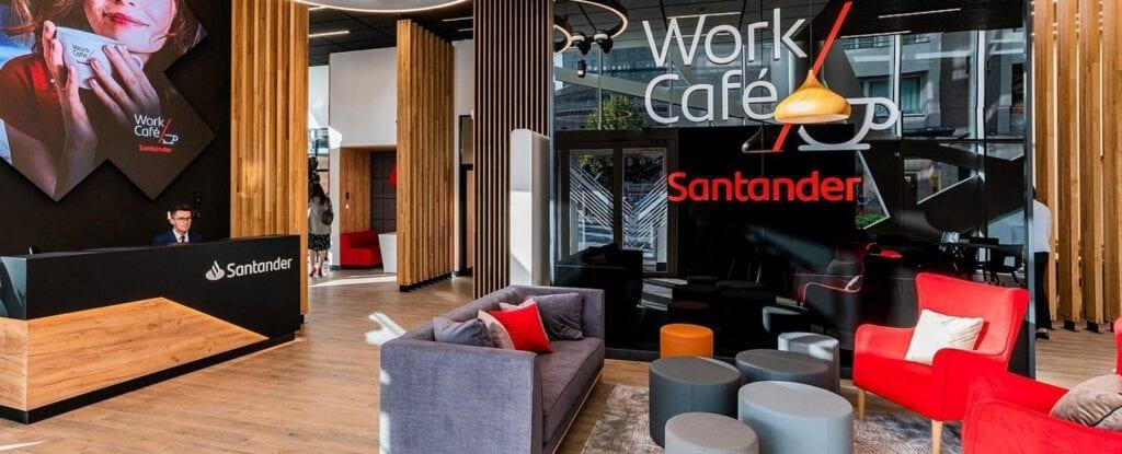 Coworking w Trójmieście - najlepsze miejsca do pracy - Santander Work/Café