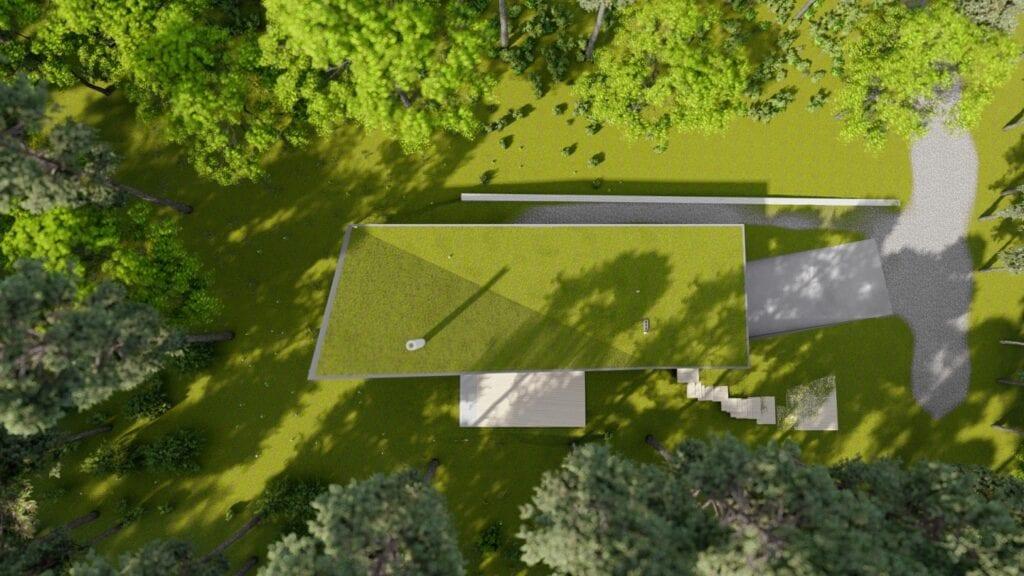 Dom z wapienia - projekt pracowni Toprojekt u podnóża Gór Sokolich