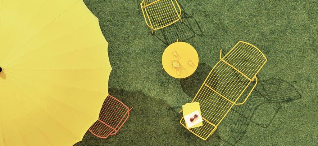 Meble ażurowe - przykłady, pomysły i inspiracje - Nolita - Perdali