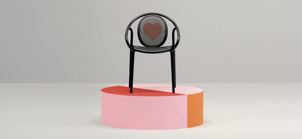 Meble ażurowe - przykłady, pomysły i inspiracje - Remind - krzesło Perdali