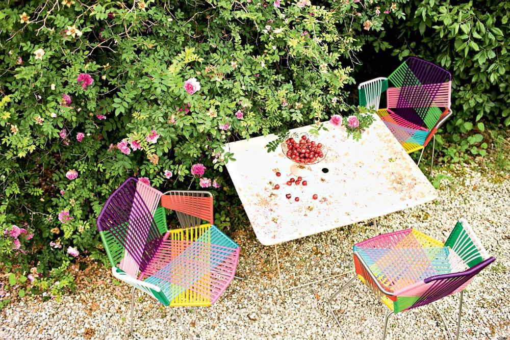Meble ażurowe - przykłady, pomysły i inspiracje - Patricia Urquiola - Tropicalia