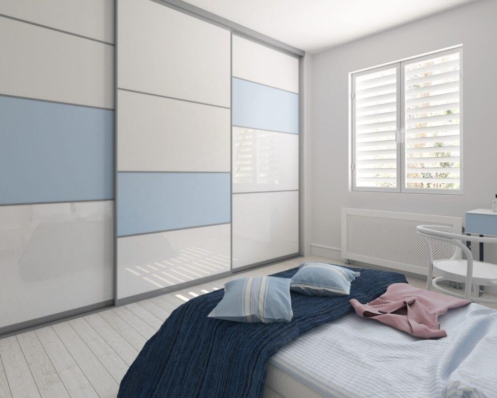 Nasz domowy azyl - urządzamy małą sypialnię z marką Komandor - Szafa na wymiar