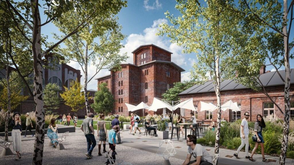 Nowy plac miejski w sercu Łodzi na terenie Fuzji
