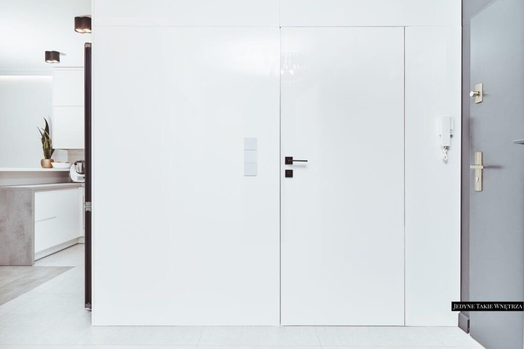 Pracownia Jedyne Takie Wnętrza i minimalistyczne mieszkanie we Wrocławiu