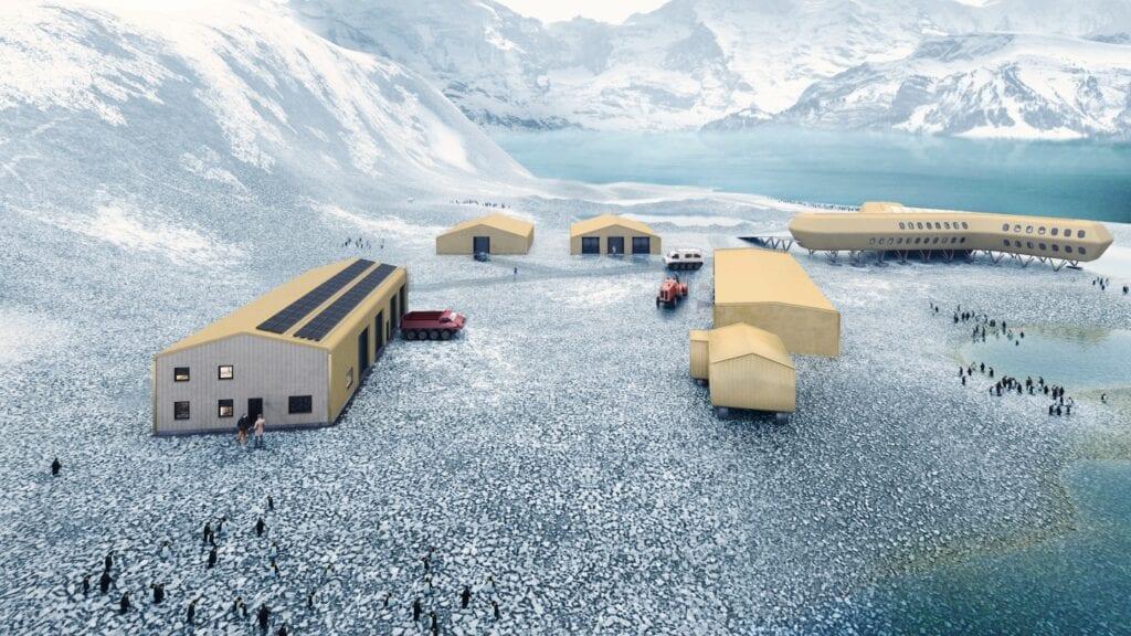 Projekt nowej stacji naukowo-badawczej na Antarktydzie - Kuryłowicz & Associates