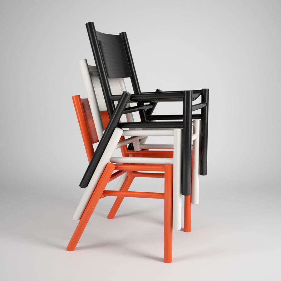 Tom Dixon - brytyjski projektant i wizjoner - Peg Chair