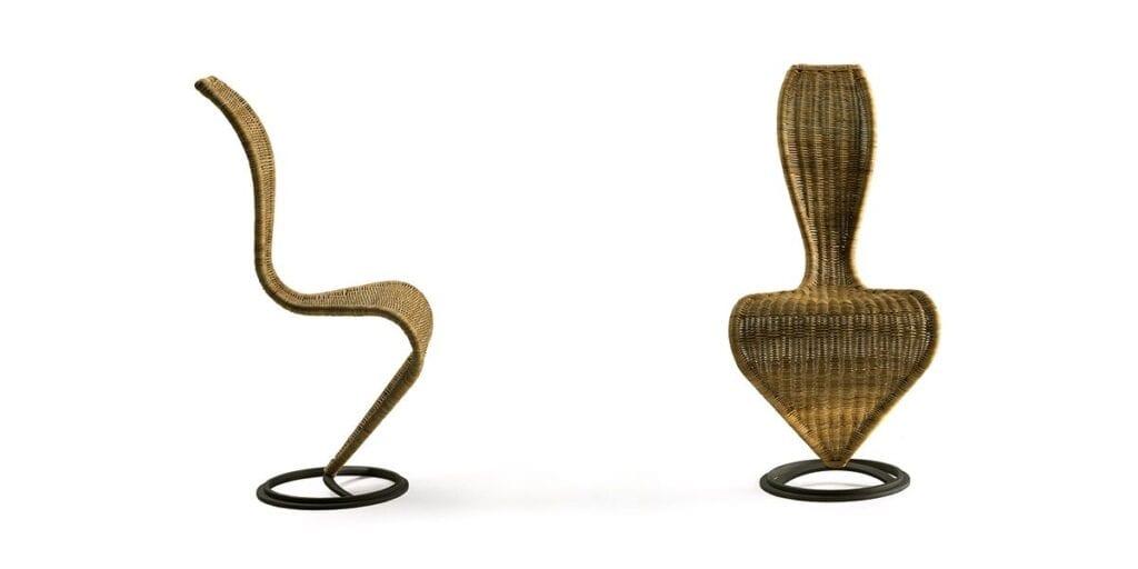Tom Dixon - brytyjski projektant i wizjoner - S Chair