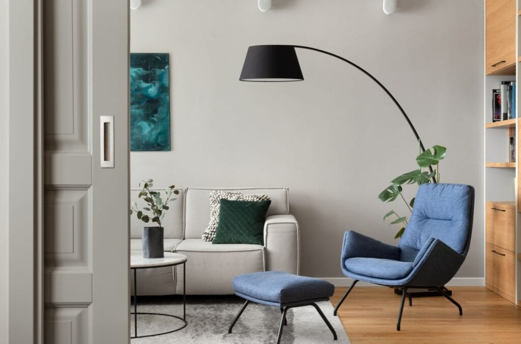 Wnętrze projektu - Ilona Paleńczuk z zespołem IP Design foto Mikołaj Dąbrowski - Farby PARA Paints
