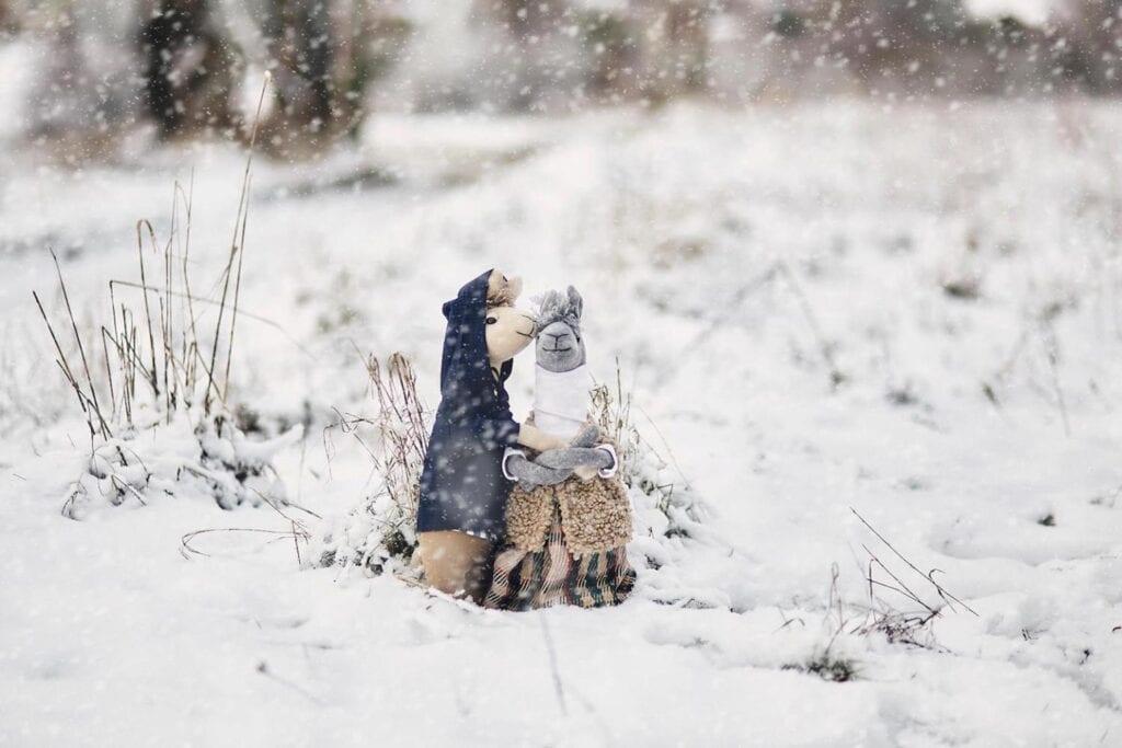 7 pomysłów na prezent świąteczny dla dziecka - AŻ Studio - Lama