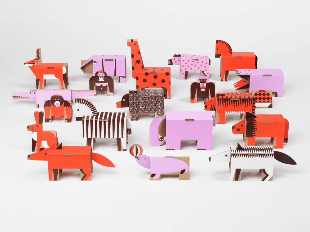 7 pomysłów na prezent świąteczny dla dziecka - Ringo - Zabawki z papieru